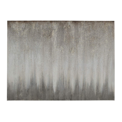 Ashley Furniture Signature Design - Paytah Glitter Wall Art - Contemporary - Silver Finish