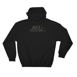 """Blood On The Podcast Floor"" Crypto Art Hoodie"