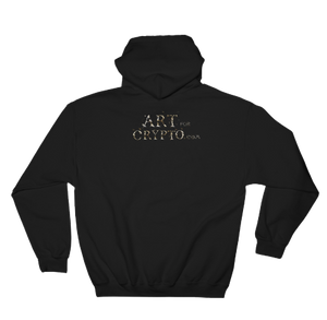 """It Used To Be Wired"" Crypto Art Hoodie"