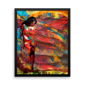 art veena malik poster framed contemporary art