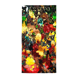 delicatessen art artevo beach yummy towel