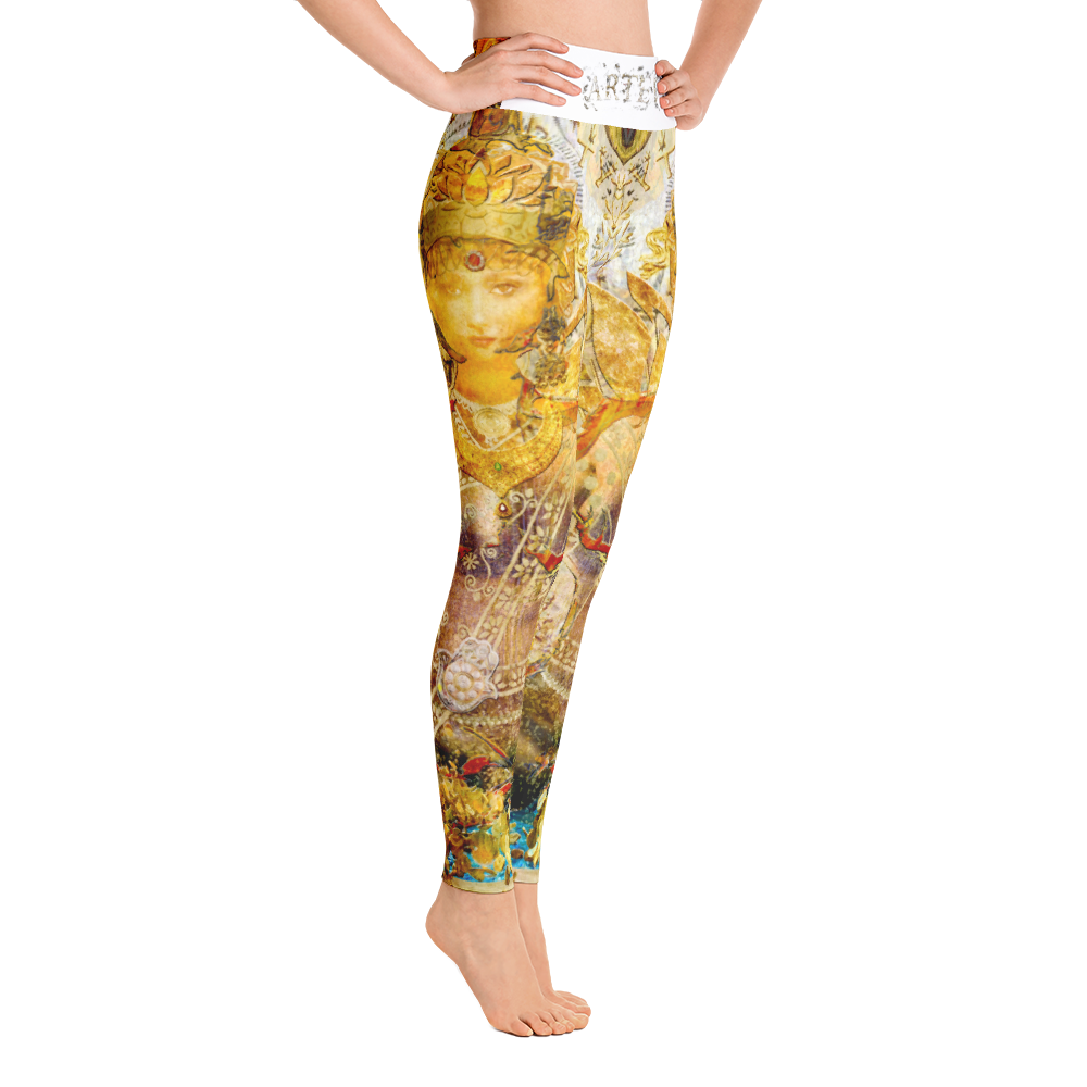 lakshmi yoga yoga pants leggins art artevo