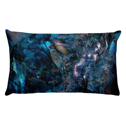 veena malik art horse pillow