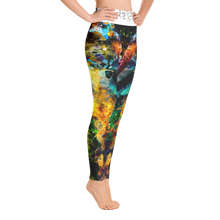 """Comet"" All Over Artevo Yoga Leggins"
