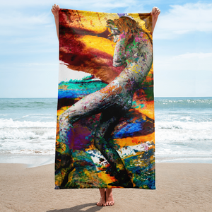 California III art artevo towel