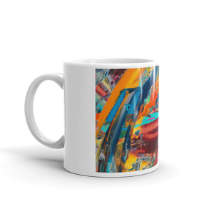 lips color picasso mug