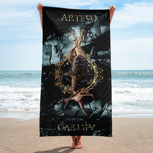 Artevo as above so below beach art towel