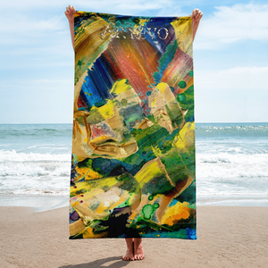 joy fun relax artevo art towel