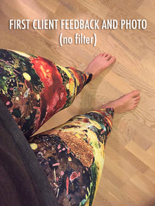 client photo no filter yoga pants art artevo