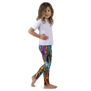 wow kids leggings art artevo wear