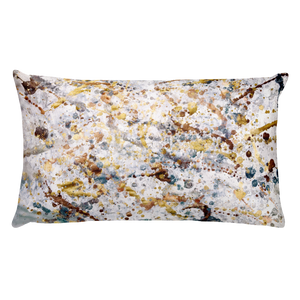revival art pillow pollock