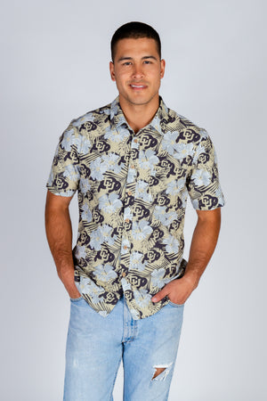 University of Colorado Ralphie Hawaiian Shirt