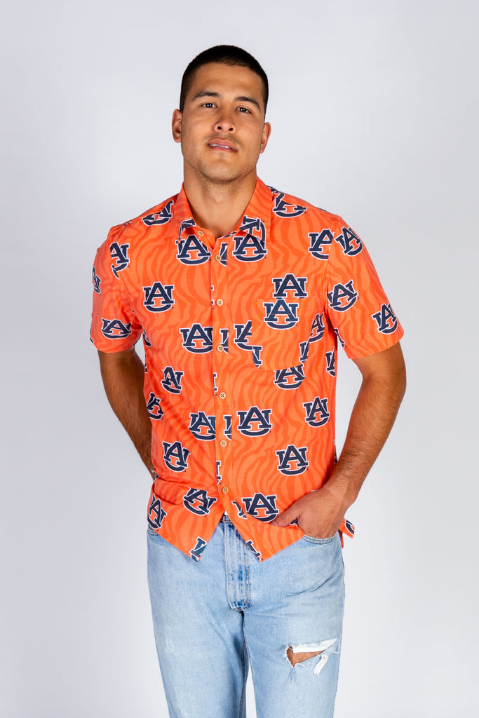 Auburn Tiger Walk Hawaiian Shirt