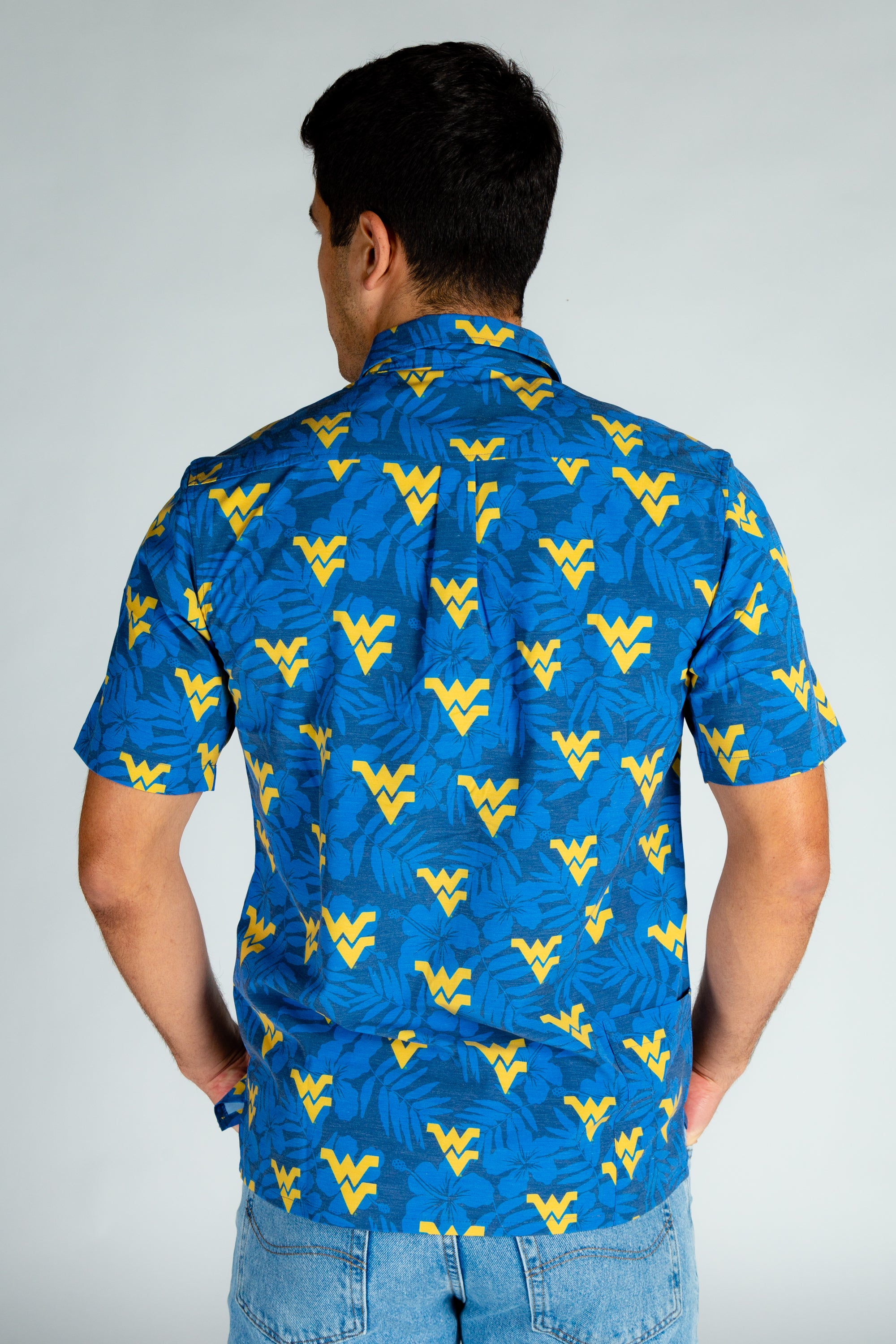 Men's WVU Hawaiian