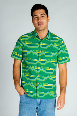 University of Oregon Men's Hawaiian Shirt