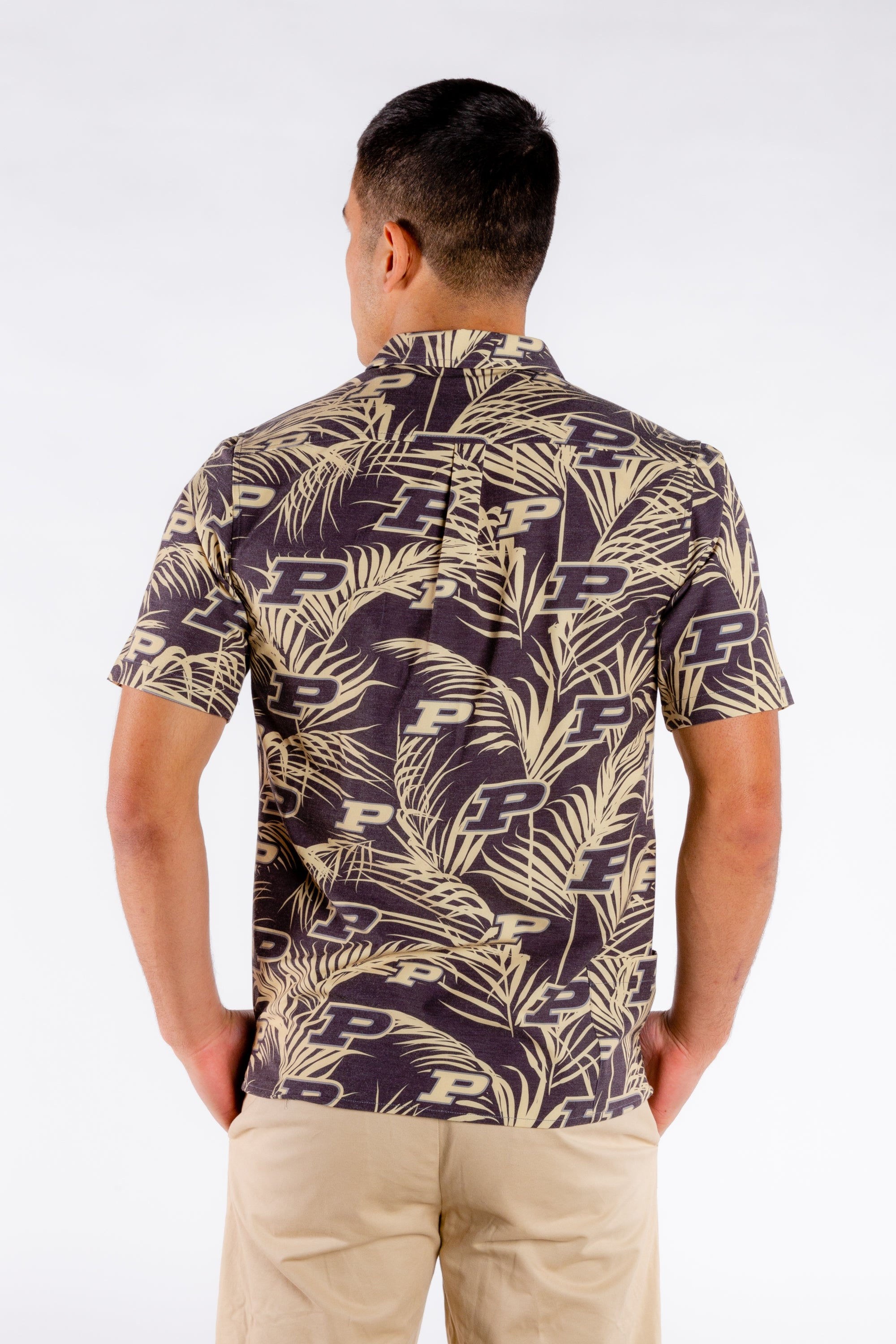 The Breakfast Club Special | Purdue Black Hawaiian Shirt