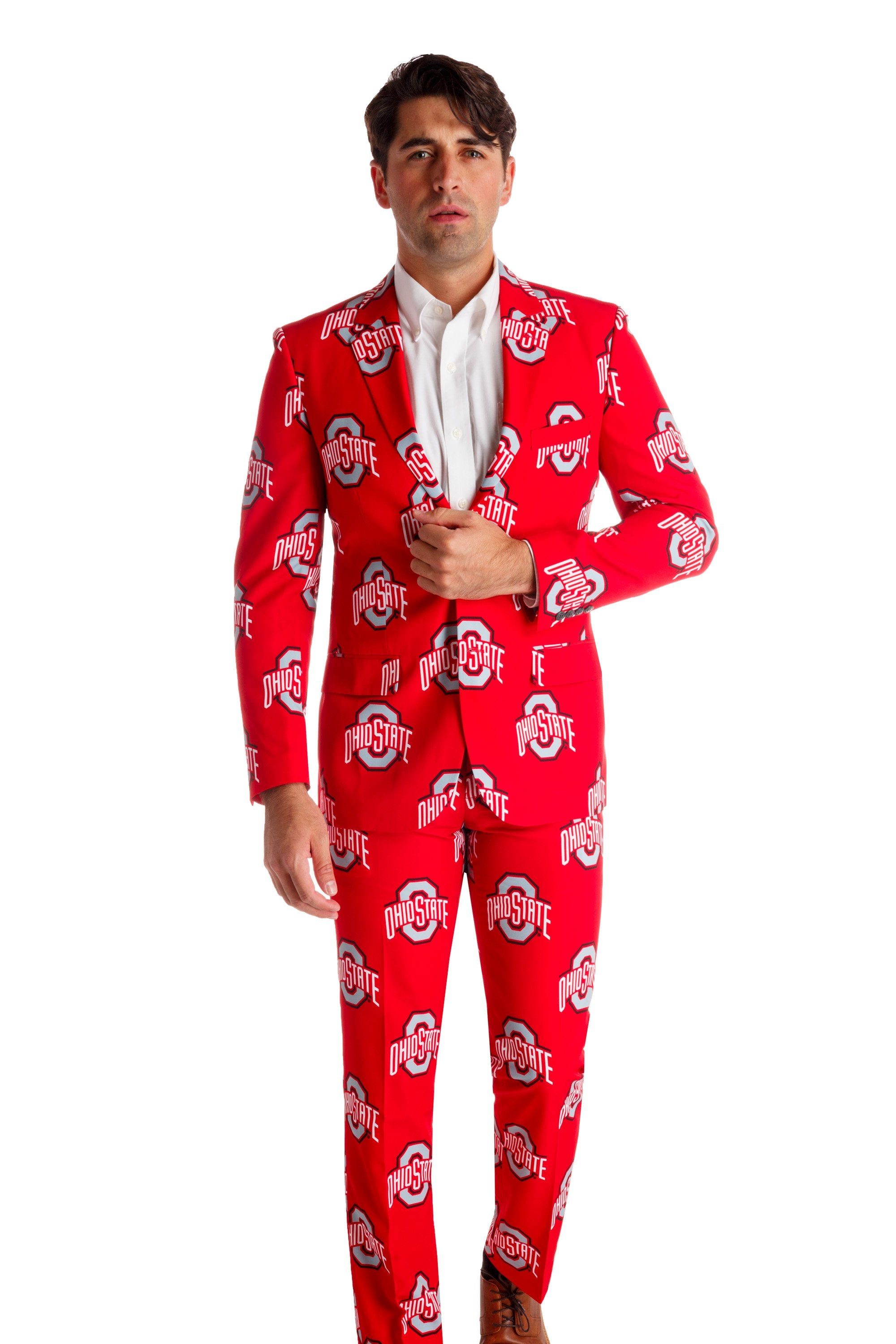 ohio state red gameday suit