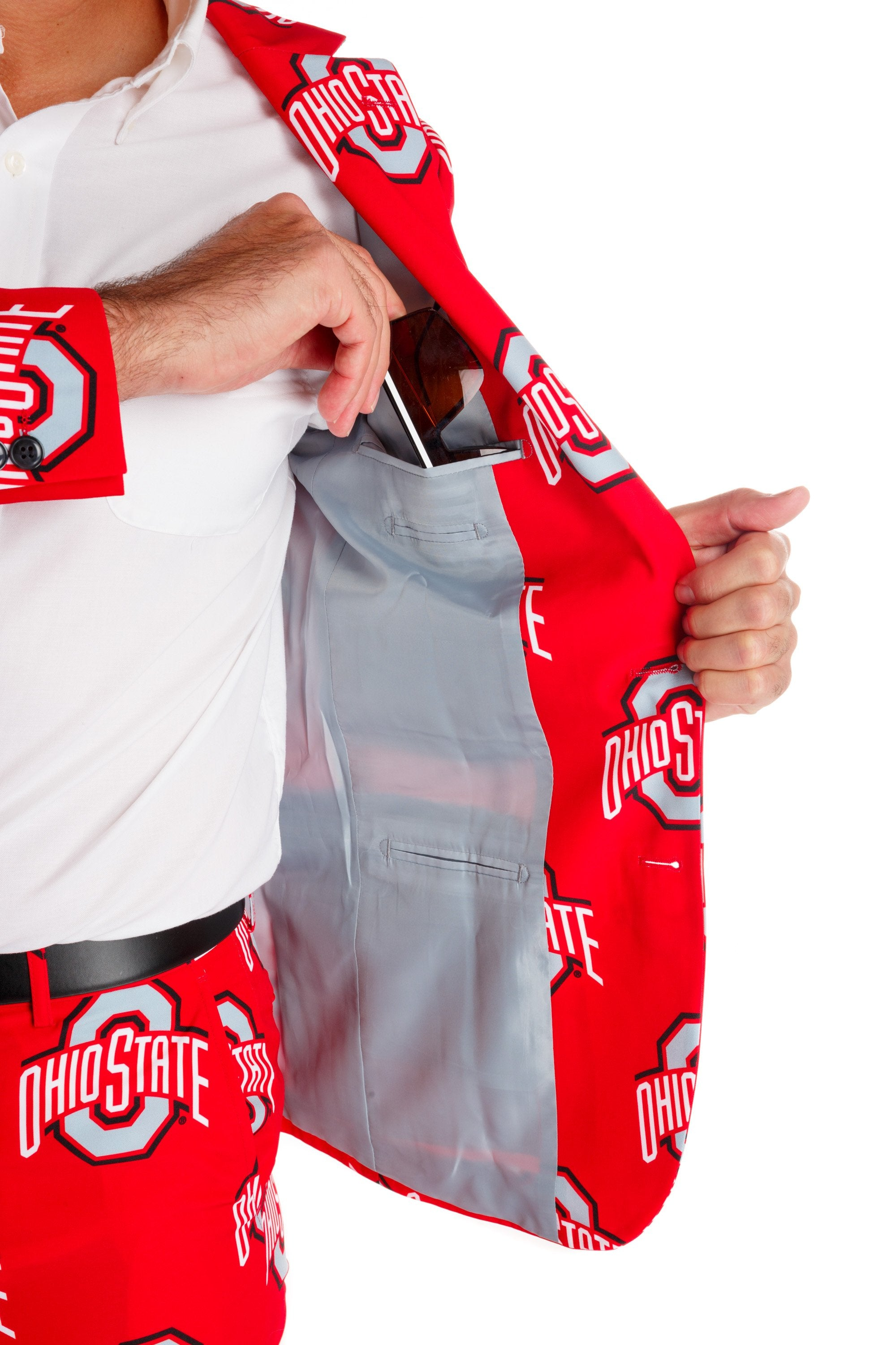 ohio state mens suit