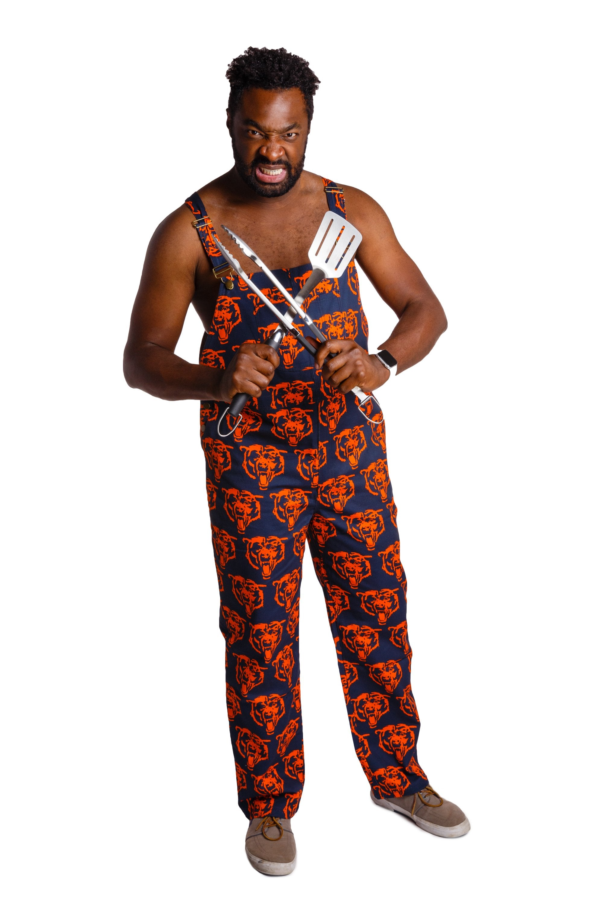 Chicago bears mens overalls