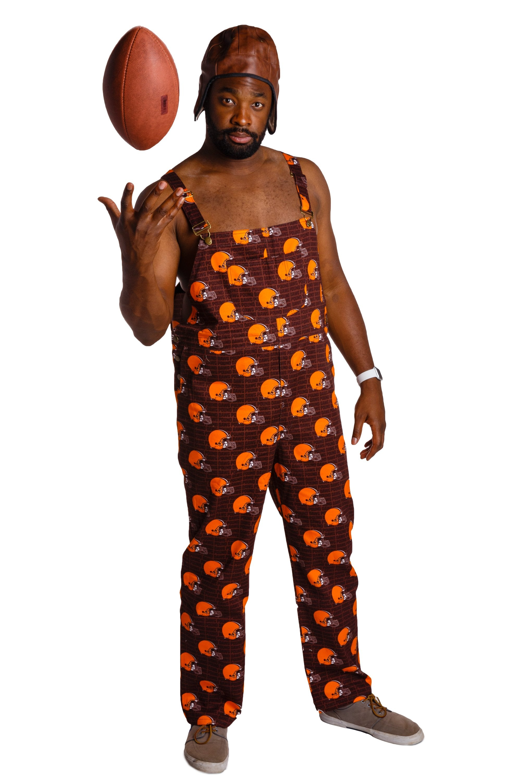 Cleveland Browns men's gameday overalls