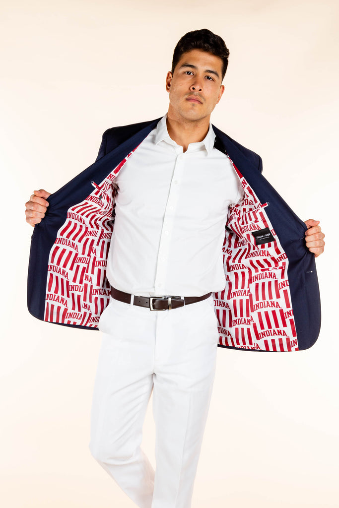 University of Indiana lined madison blazer