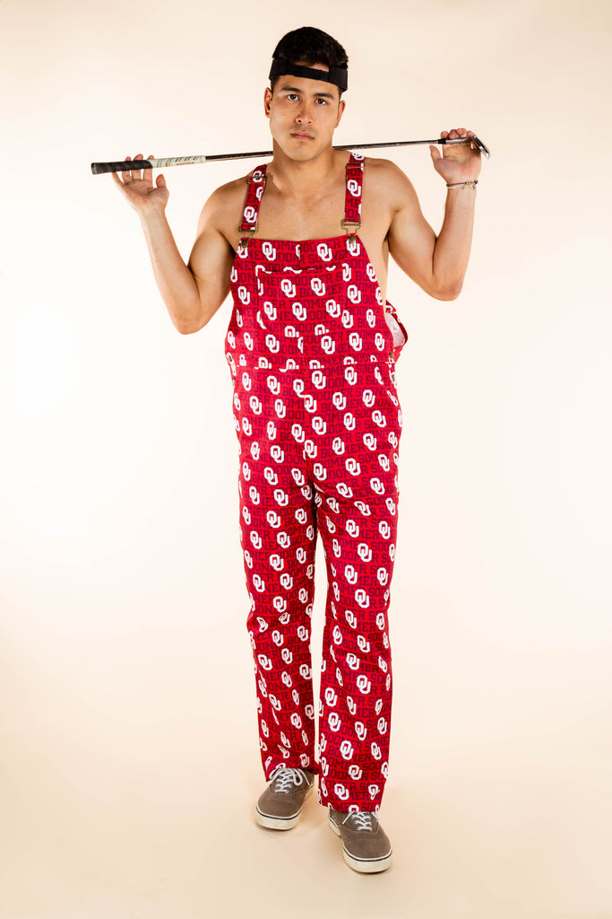 University of Oklahoma overalls