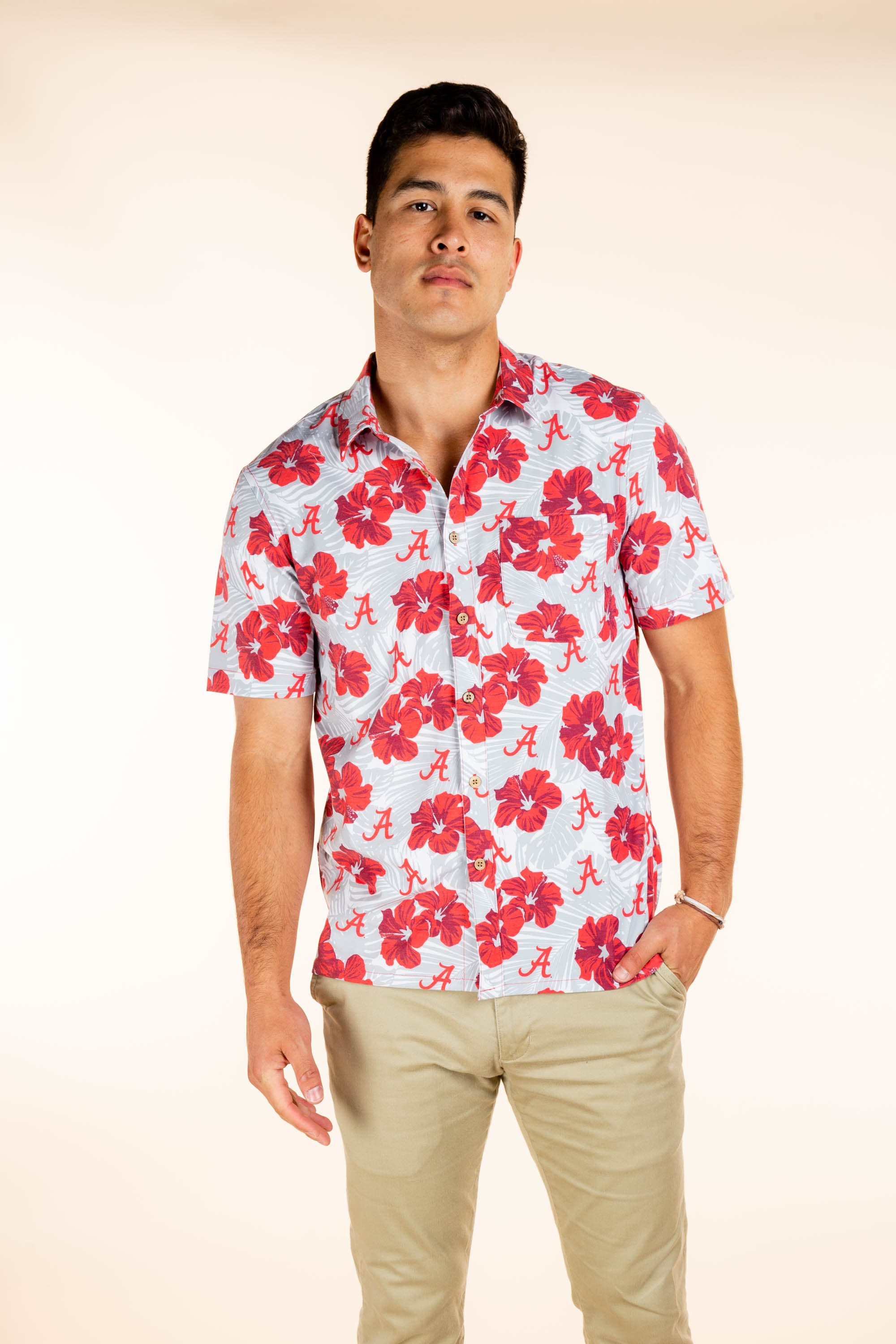 University of Alabama Hawaiian Game Day Shirt