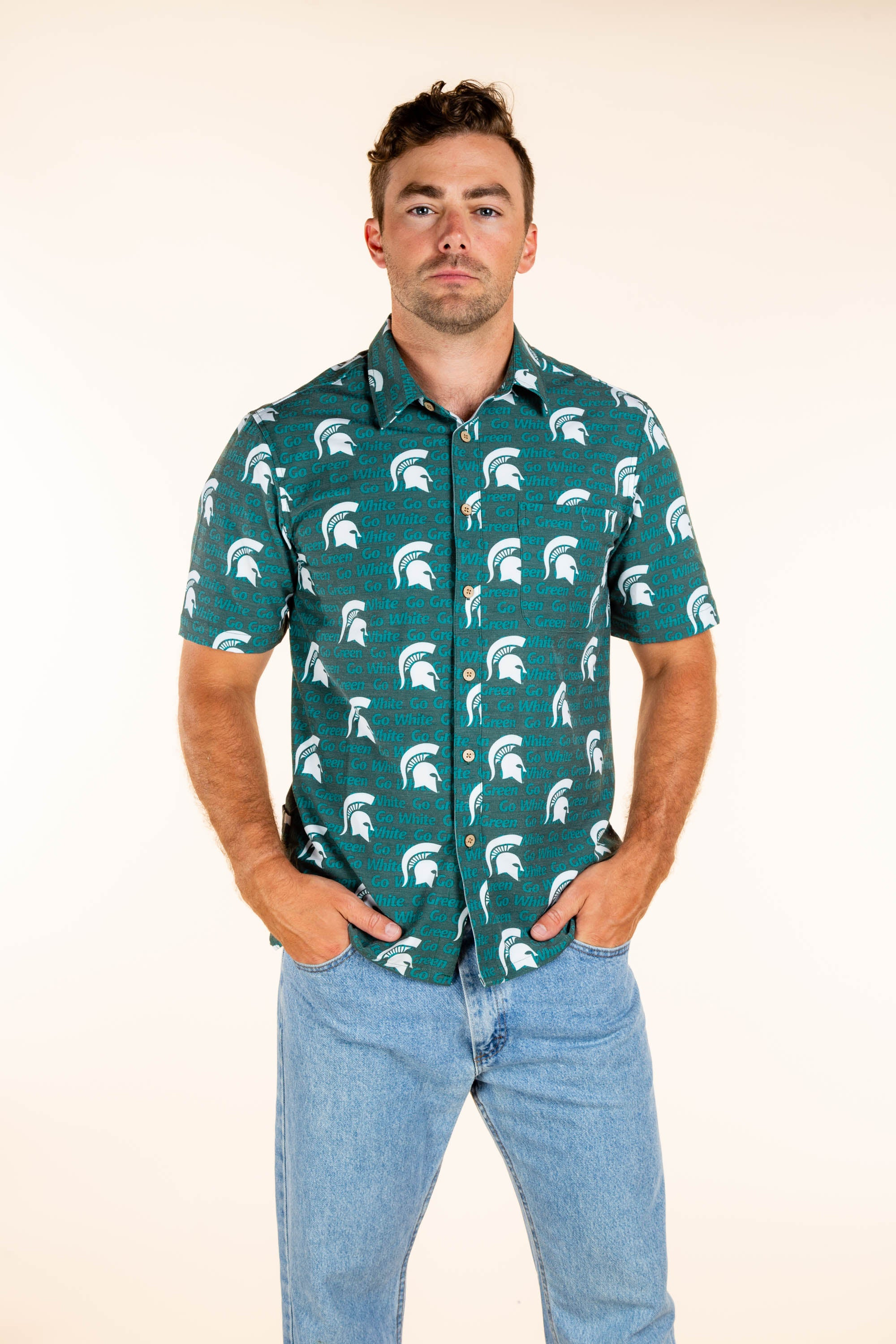 Men's Michigan State Tailgating Shirt