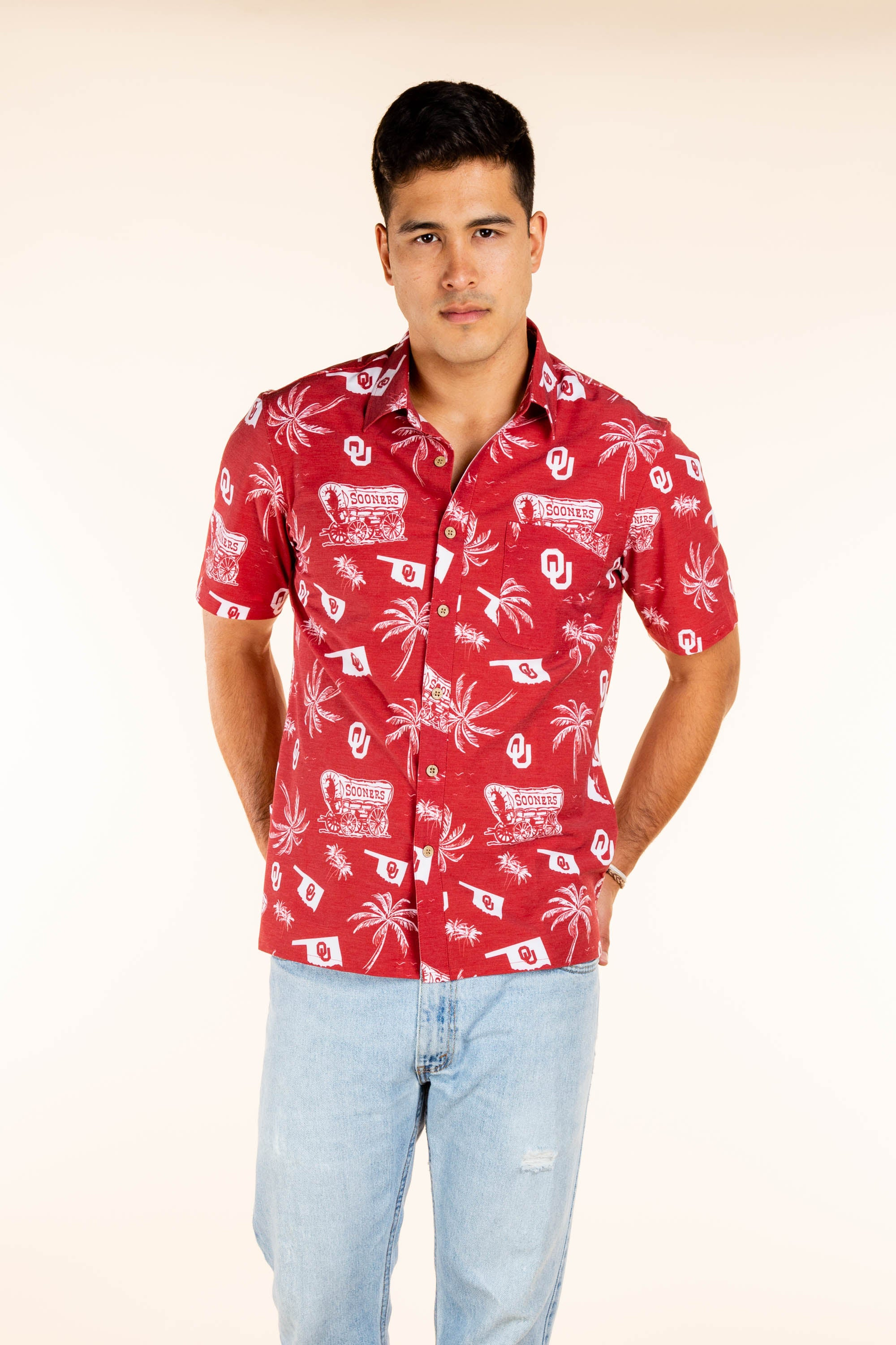 OU men's hawaiian