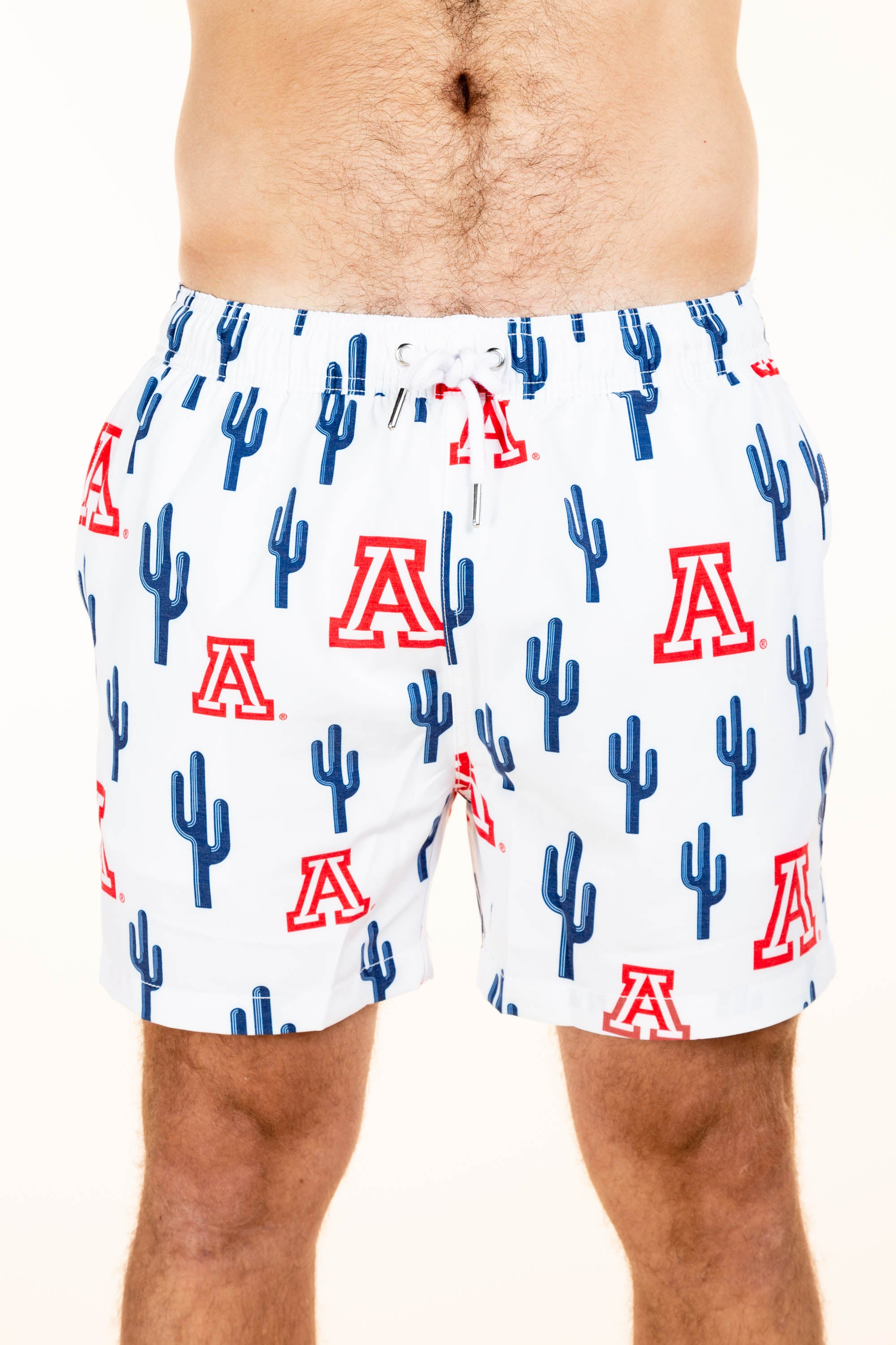 Men's University of Arizona swim trunks