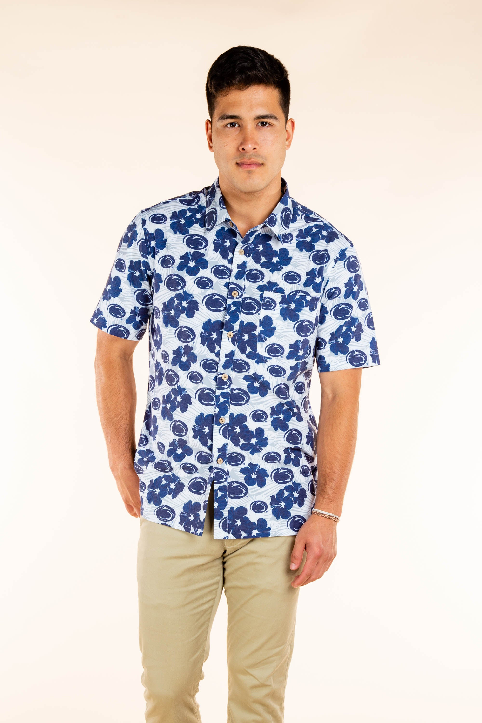 Penn State Hawaiian Tailgating Shirt