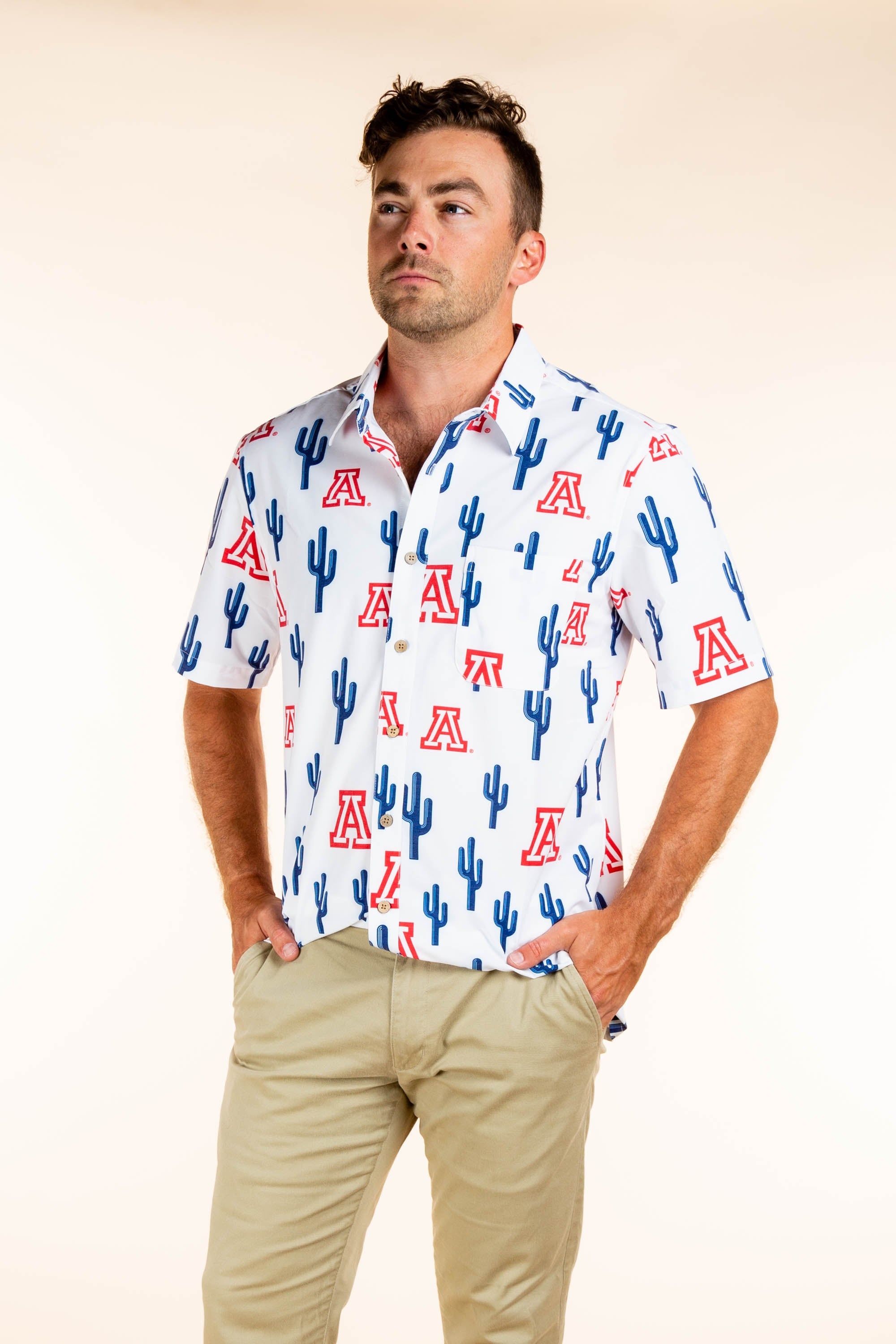 U of A hawaiian for men