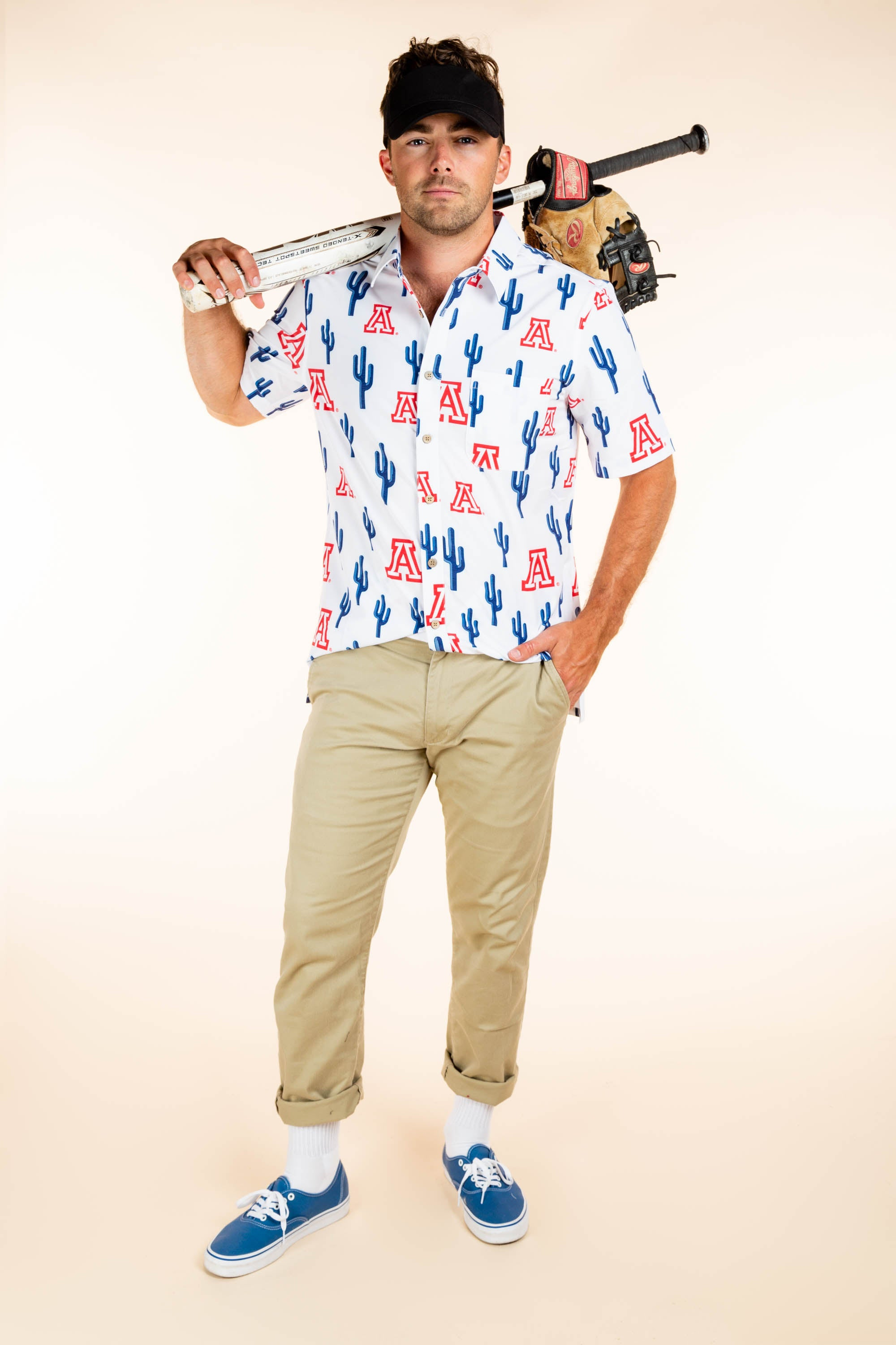 University of arizona mens hawaiian