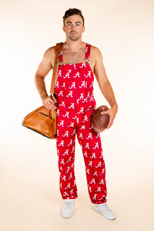 Roll tide alabama overalls