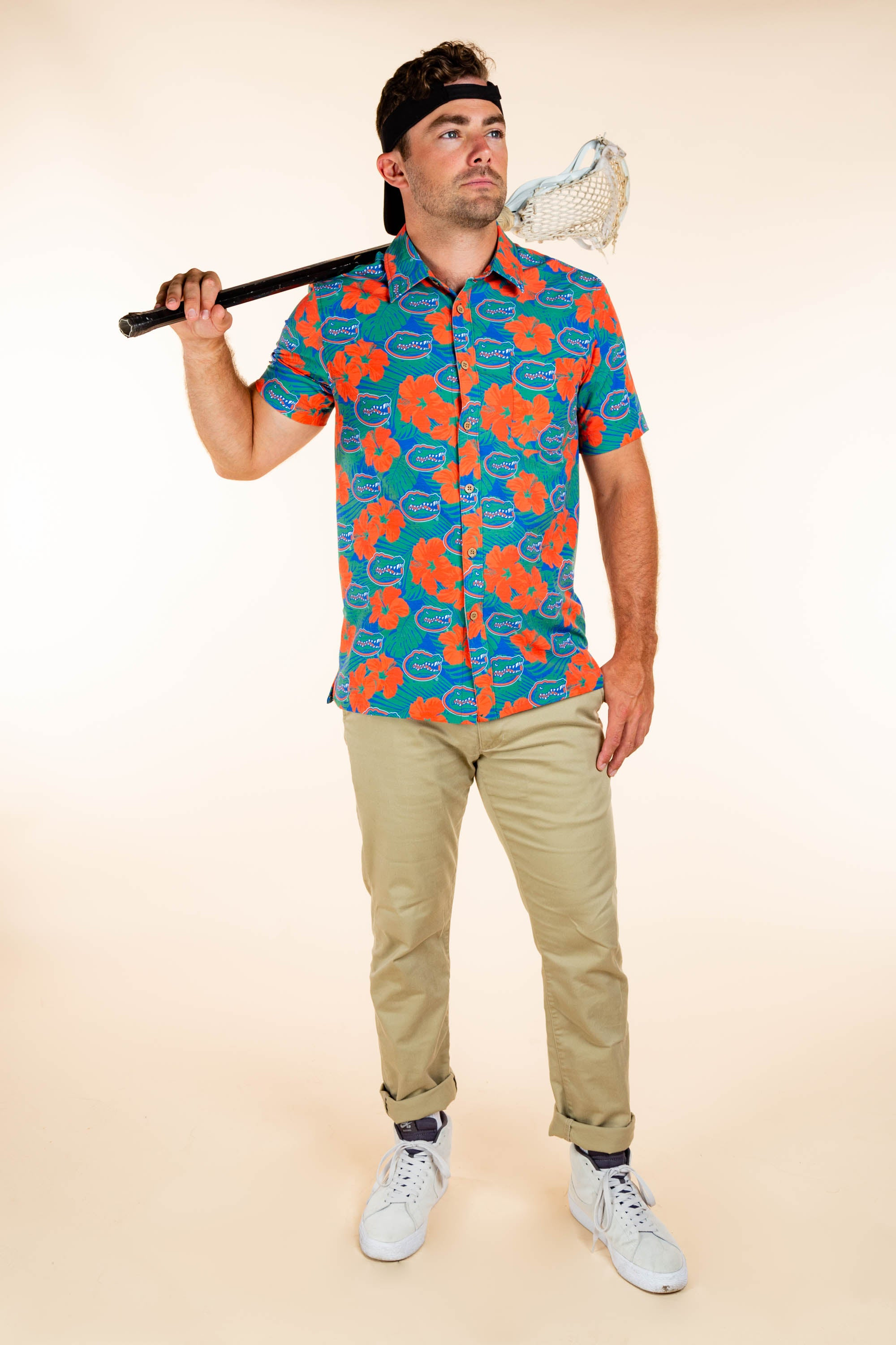 University of Florida Hawaiian Game day Shirt