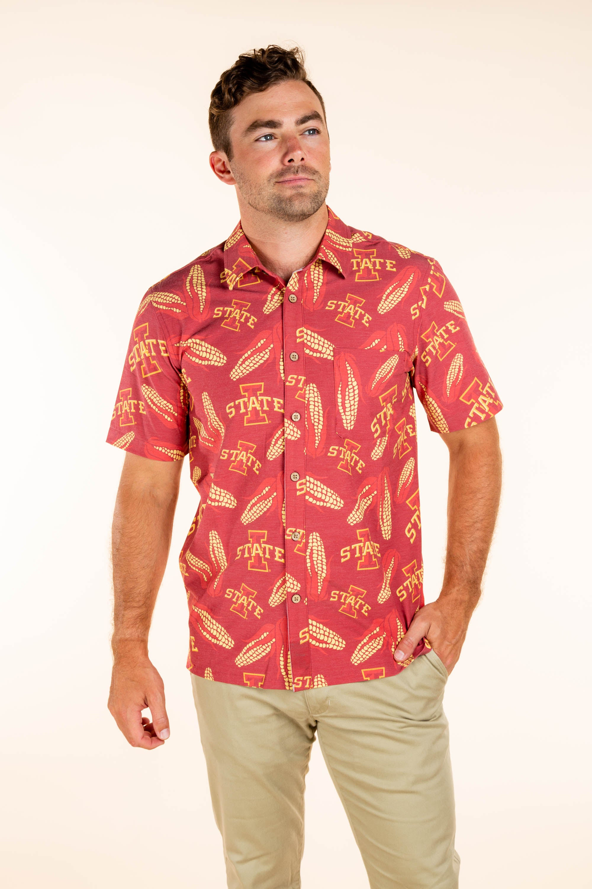 Iowa State Button Up Game Day Shirt