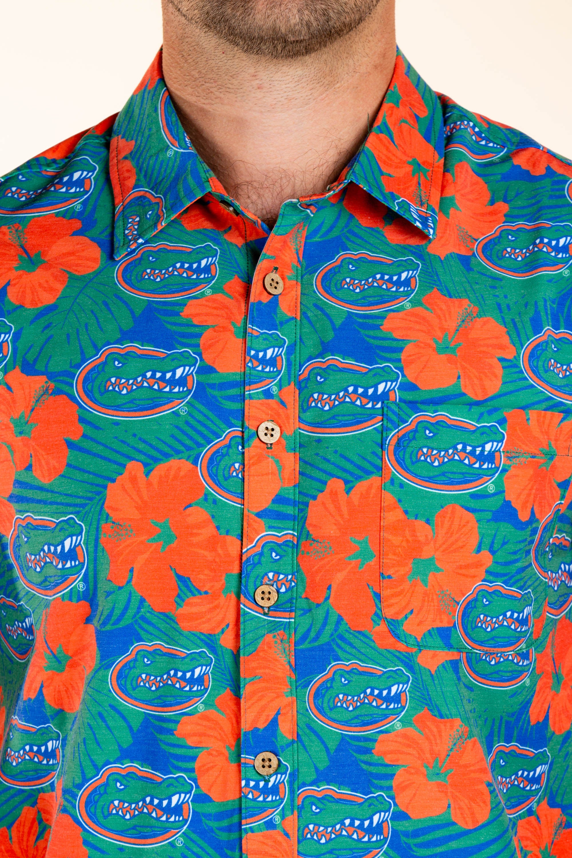 University of Florida Floral Tailgating Shirt