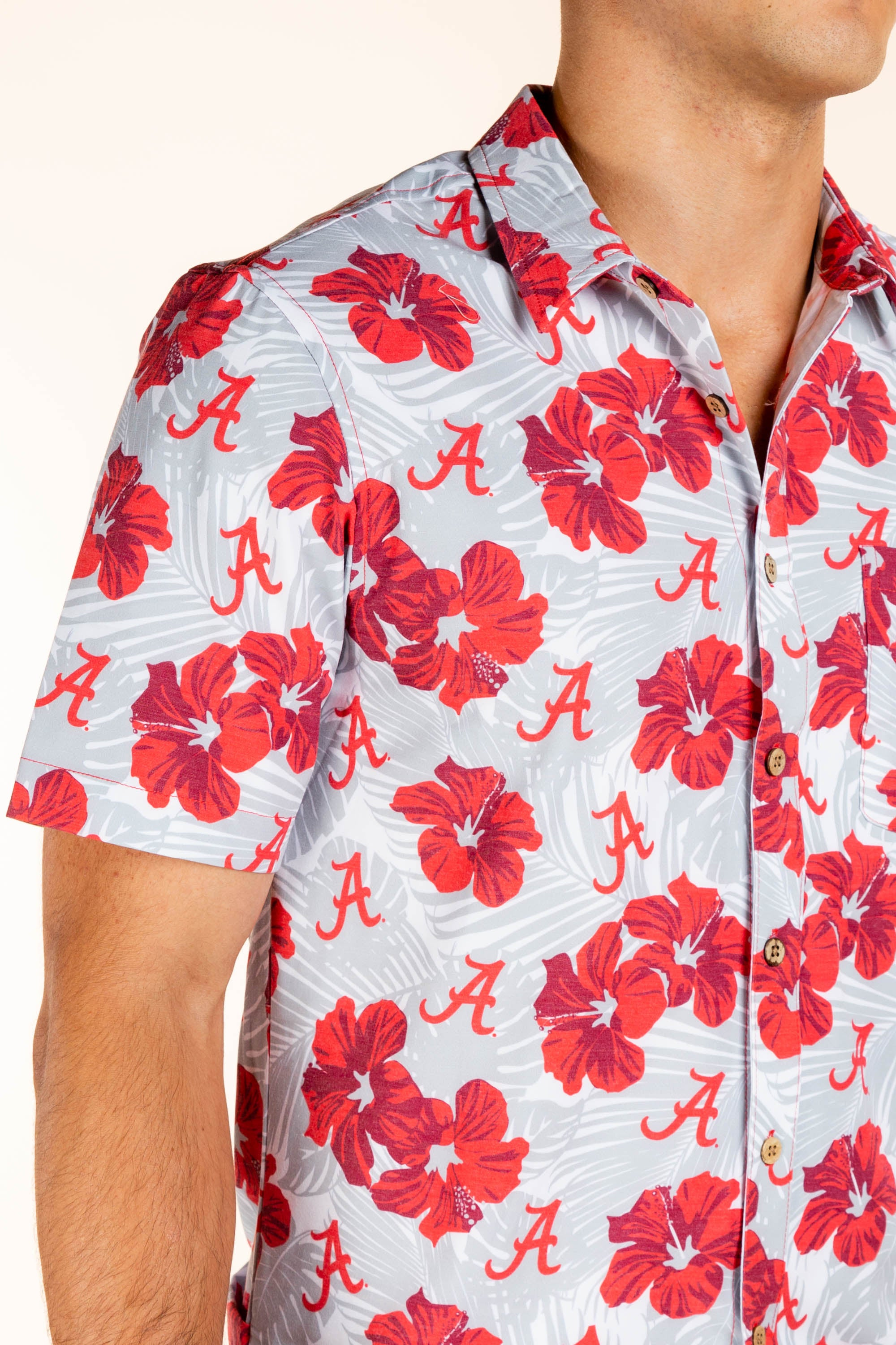 University of Alabama Hawaiian Tailgating Shirt
