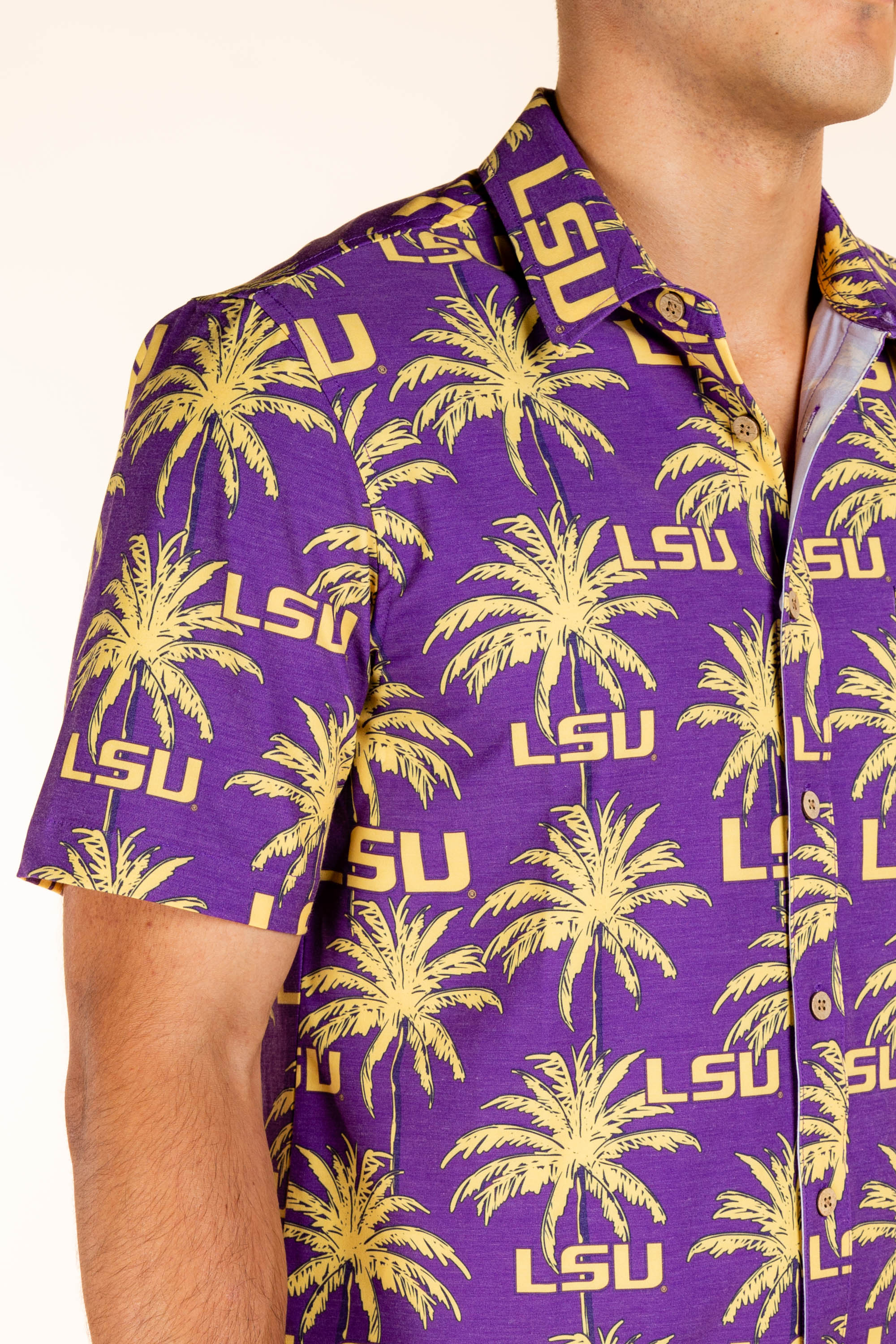 Purple and Gold LSU Party Shirt