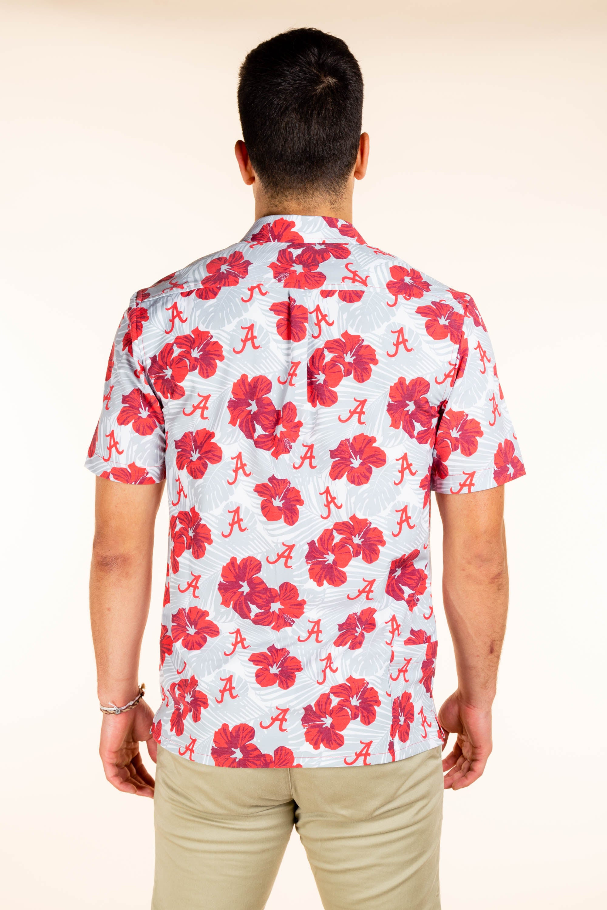 University of Alabama Men's Hawaiian Party Shirt