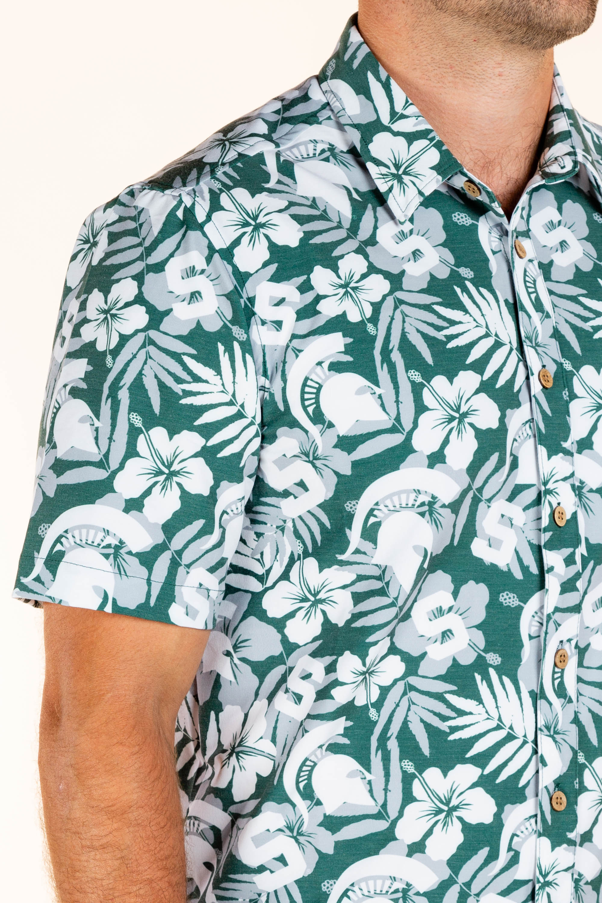 MSU Spartans Hawaiian Shirt
