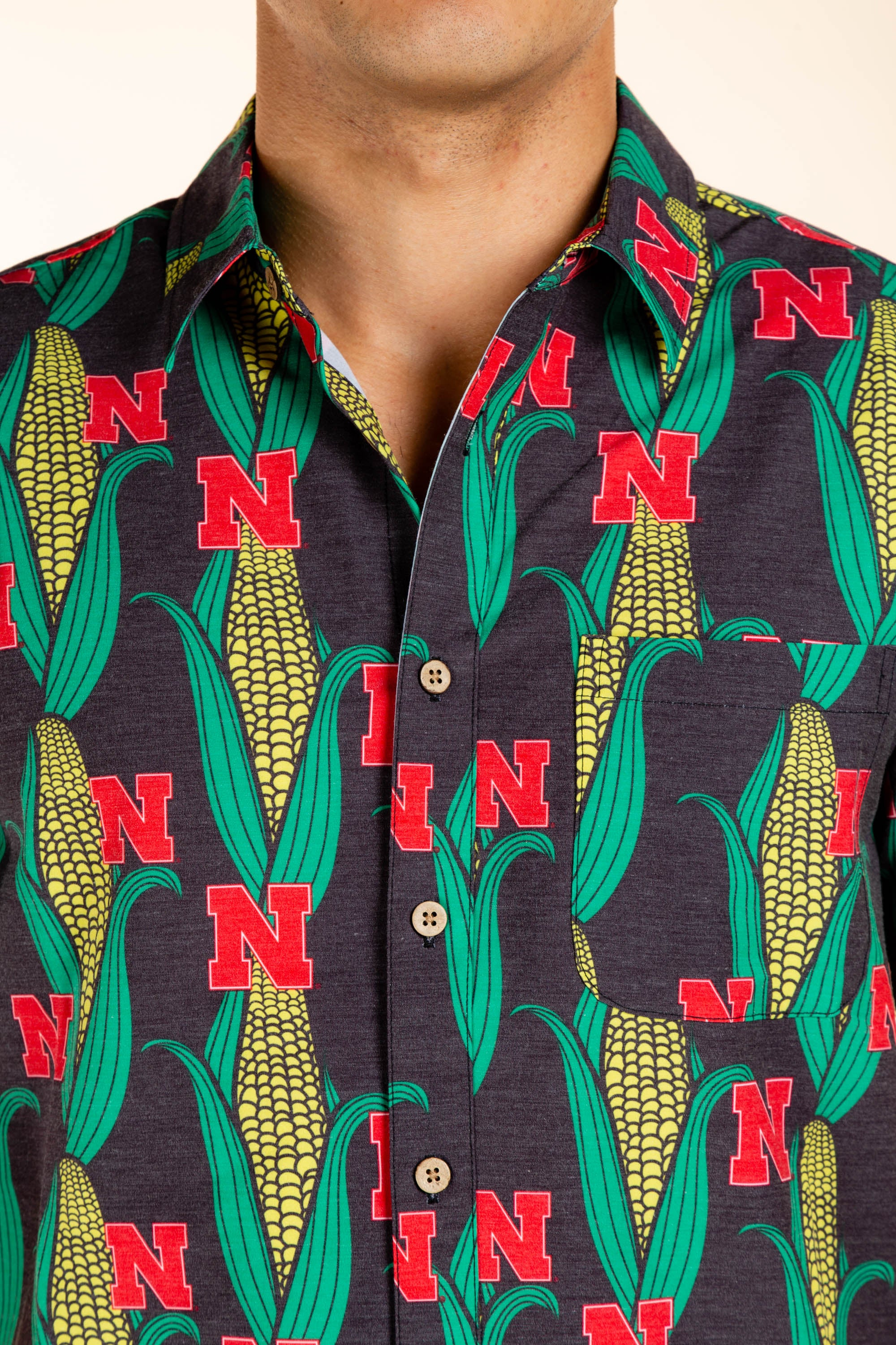 University of Nebraska Button Up Game Day Shirt