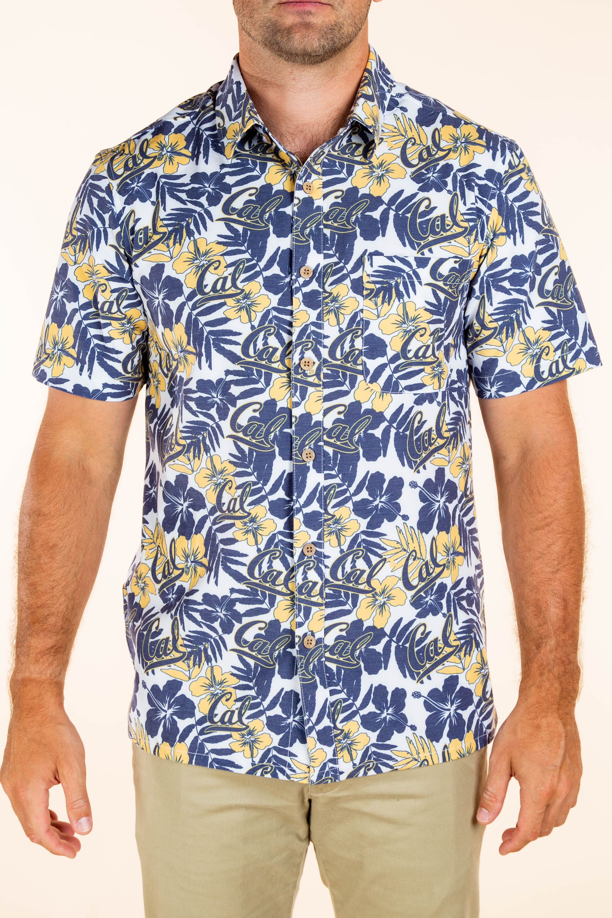 Much California Wow | UC Berkeley Hawaiian Shirt