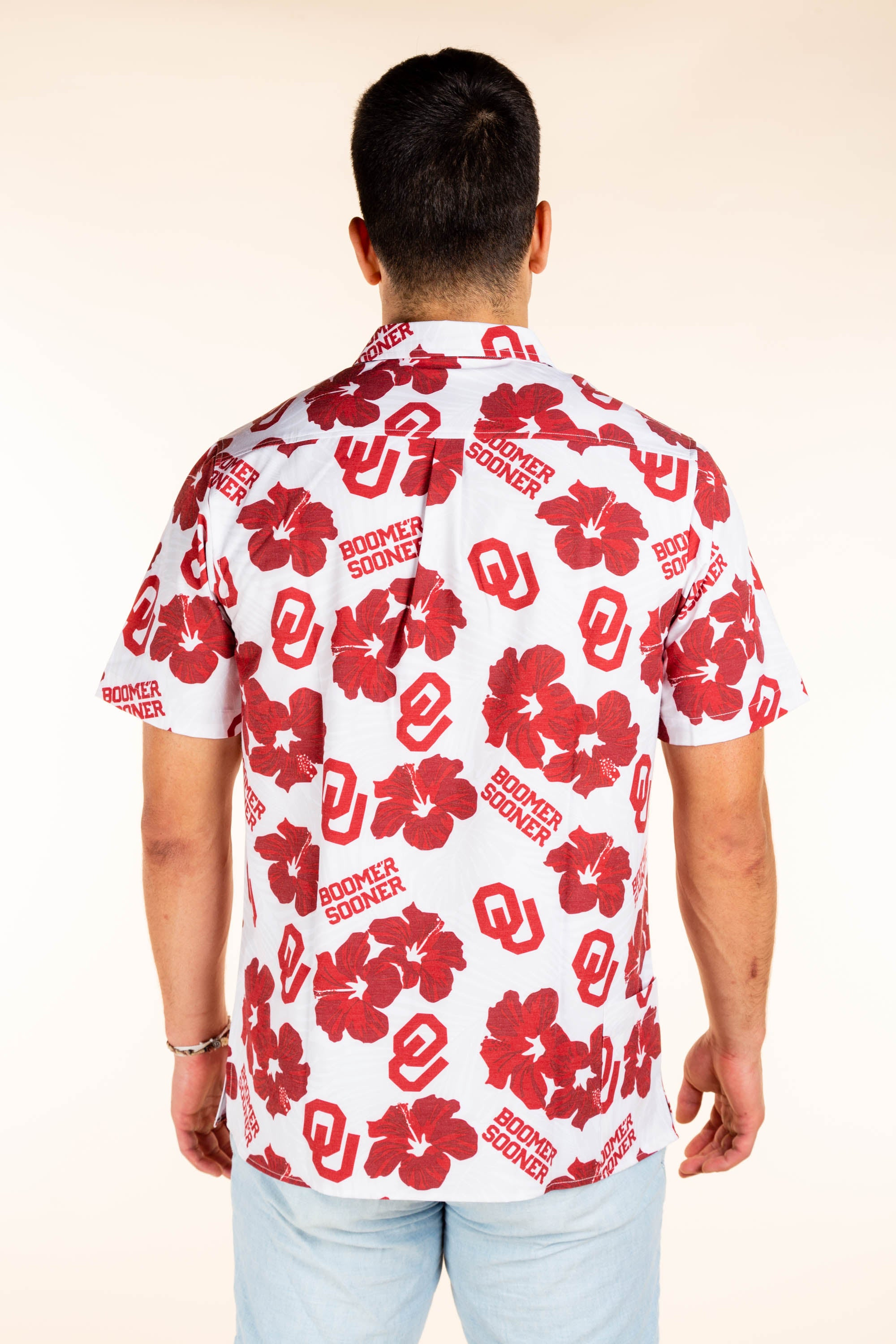 Oklahoma University Hawaiian Game Day Shirt