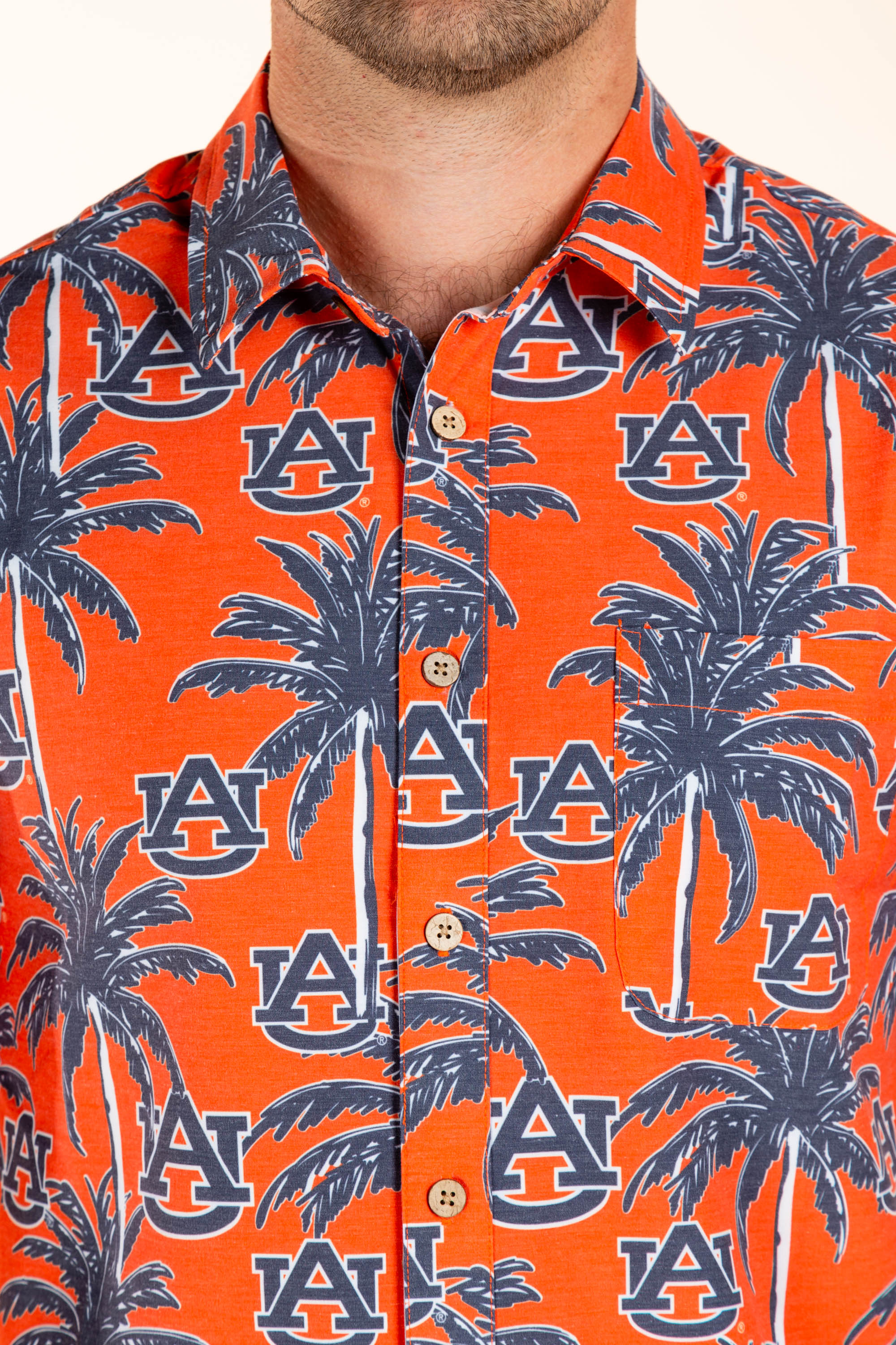 Auburn University Game Day Button Up Shirt