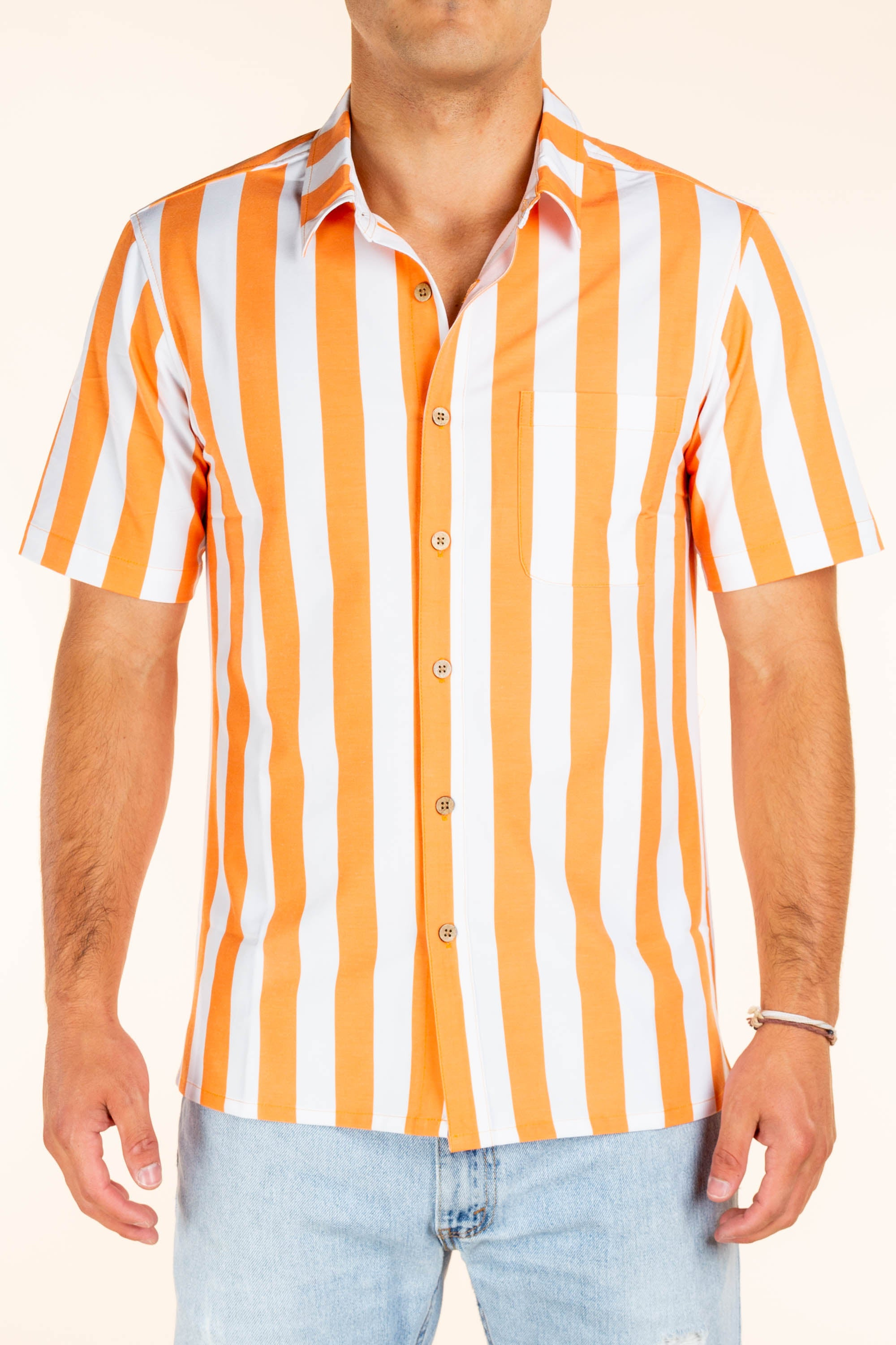 University of Tennessee Striped Tailgating Shirt