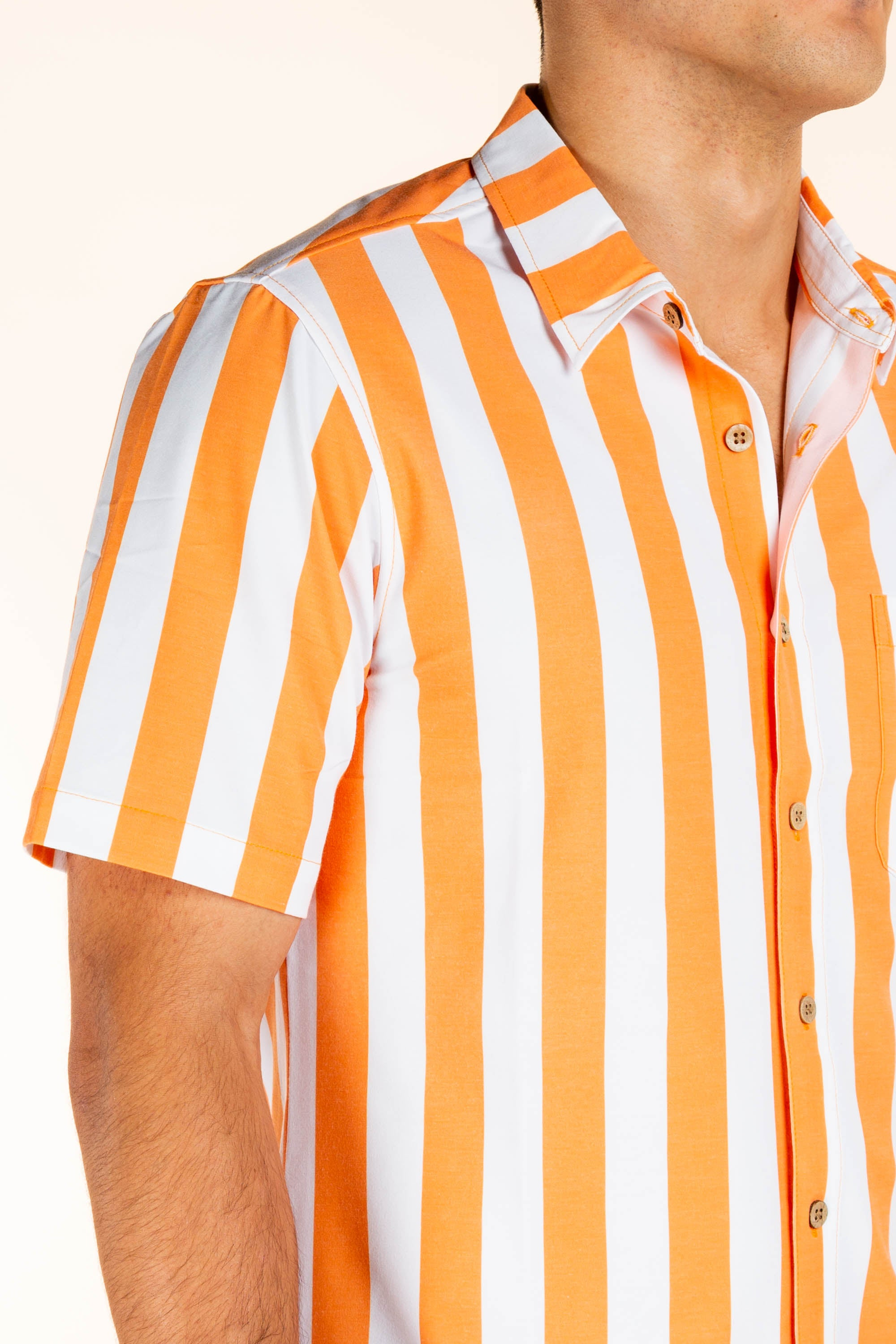 University of Tennessee Striped Button Up Shirt