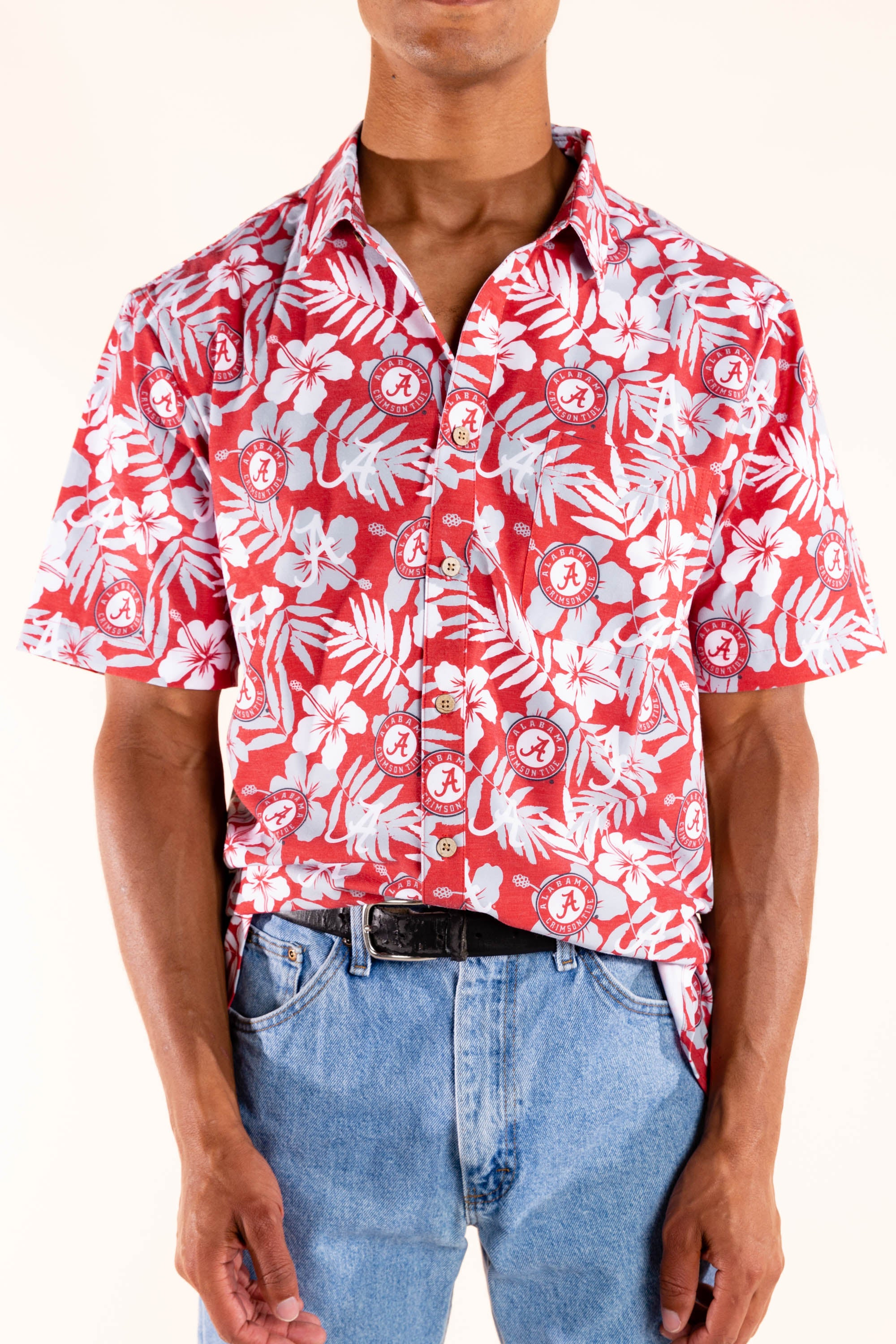 University of alabama hawaiian shirt