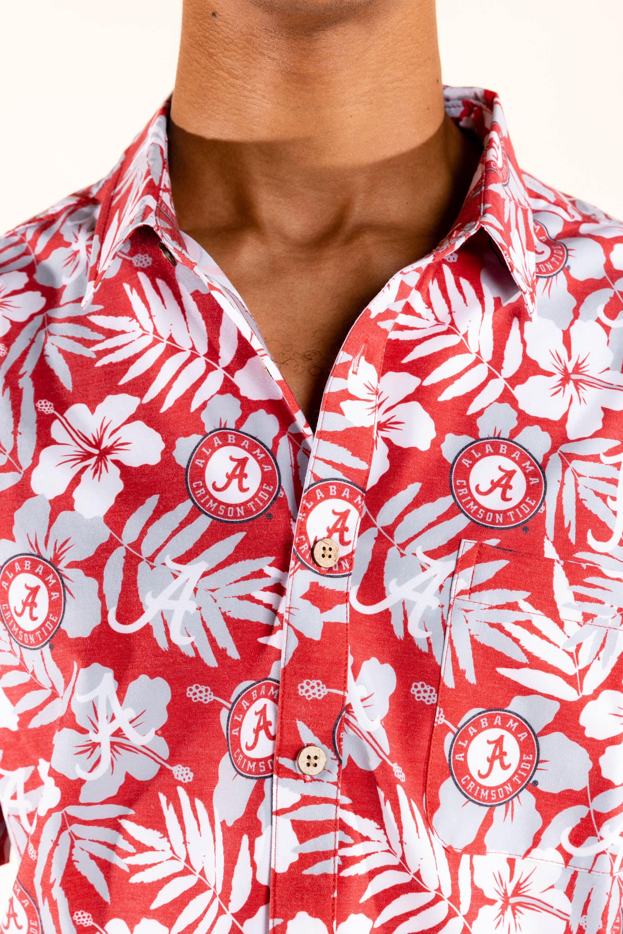 floral alabama hawaiian shirt