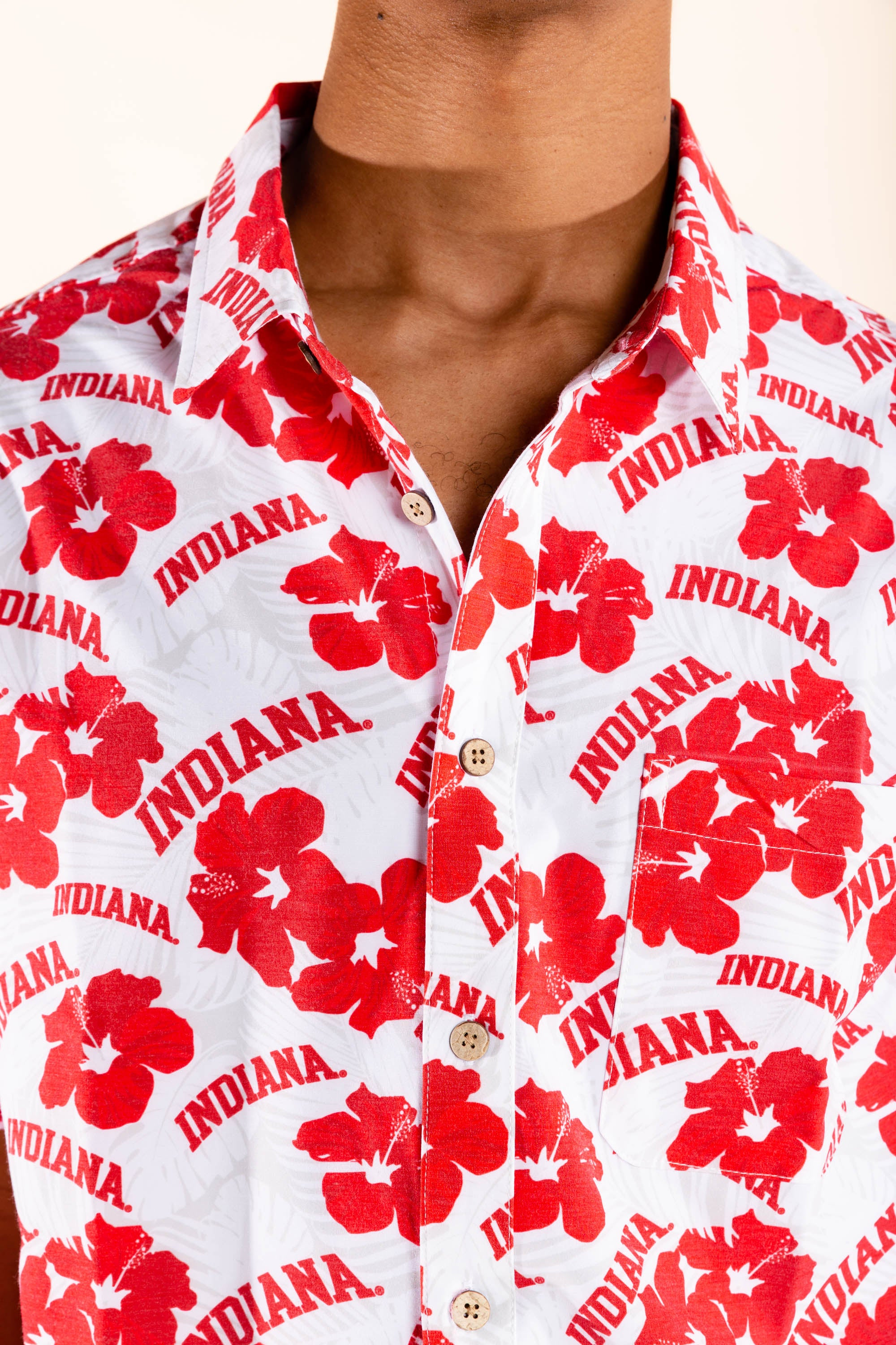 Indiana hawaiian shirt for men